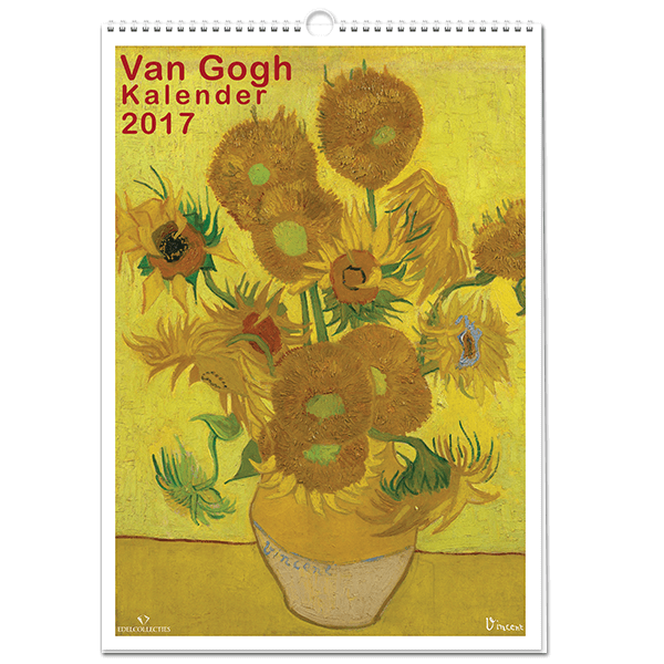 Van Gogh Kalender 2017 | vangoghpostzegels.nl
