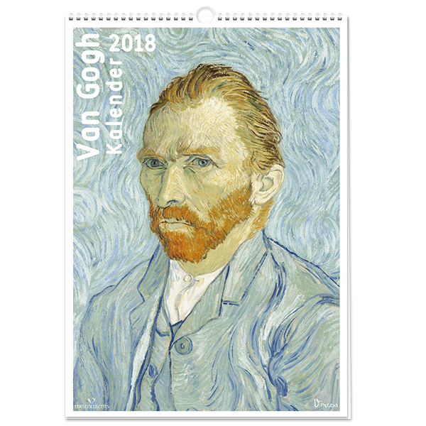 Van Gogh Kalender 2018 | vangoghpostzegels.nl
